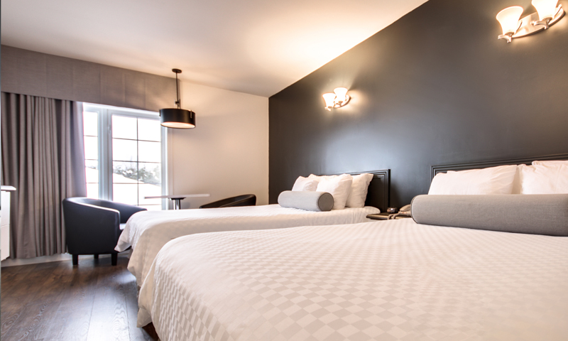 Chambre d'hôtel - Hôtel Marineau à Shawinigan