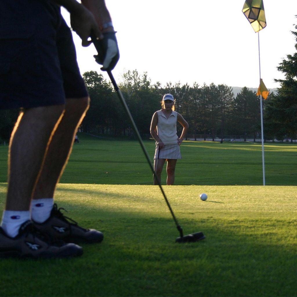 Partie de golf